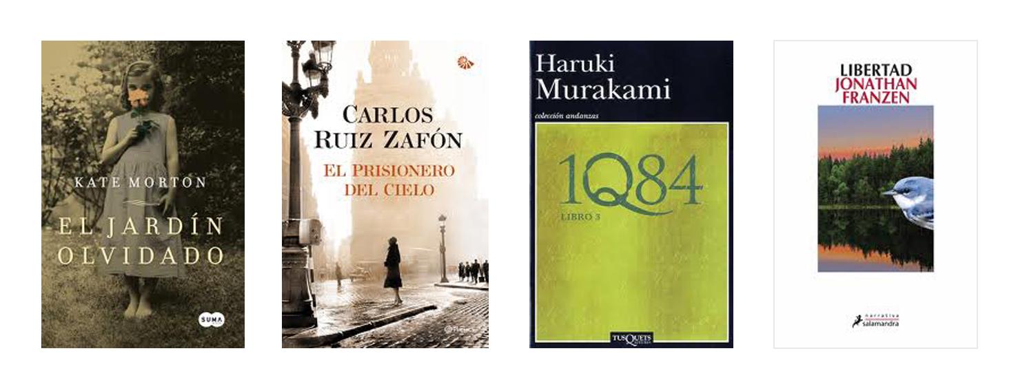 Qu novedad deber as leer test bookhunterblog for Libro jardin olvidado